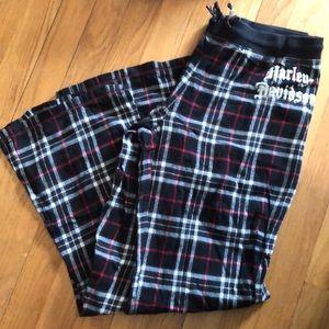 Harley-Davidson Ladies Flannel Lounge Pants